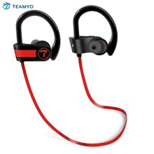 Teamyo Wireless Headphones sports Bluetooth Earphone Neckband Headphone IPX7 waterproof earphone with mic For Phone xiaomi(China)