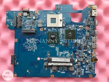NOKOTION Laptop Motherboard for Gateway TJ65 MS2273 MBWG801.001 MBWG801001 48.4BU04.011 System Board with video card free cpu(China)