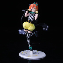 Anime Love Live! School Idol Festival Rin Hoshizora PVC Figure Japan Cartoon Collectible Mascot Kid Toys In Box(China)