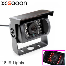 XCGaoon Universal 170 Degree Car Rear View Camera Waterproof With 18 IR LED Night Vision for Truck & BUS