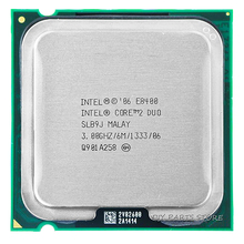INTEL Core 2 Duo DUAL CORE E8400 CPU Processor INTEL E8400 CPU (3.0Ghz/ 6M /1333GHz) Socket 775(China)
