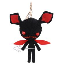 New Voodoo doll Key Chain New gig size doll keychain Fashion Phone Key Holder Bag Charm Accessories Car key Ring K1257(China)