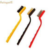 May 3 Mosunx Business Small Brush Set Cleaning Brushes For Car Kitchen Gas Stove(China)