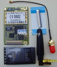 GSM GPRS MC35i module to send the new antenna, SIM card connector, cable, cable linker