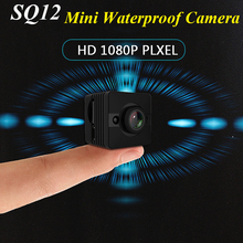 SQ12 HD 1080P Mini Camera Night Vision Wide Angle lens Waterproof Mini Camcorder DV Voice Video Recorder Action Camera 2018 New(China)