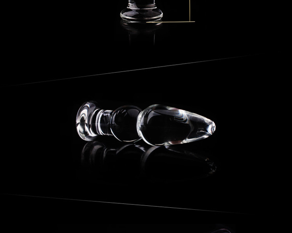 1Pc Glass Anal Butt Plugs Crystal Dildos Beads Ball Erotic Stimulator Fake Penis Female Masturbate Sex Toys for Couples 16