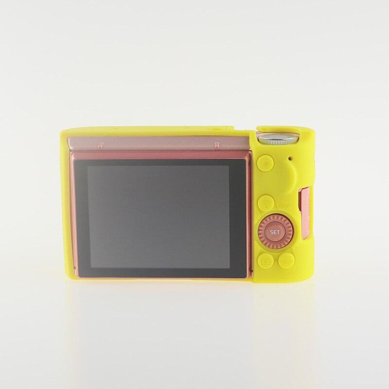 Soft Silicone Rubber Camera Bag Protective Body Case for Casio ZR5000 5500 5300-8