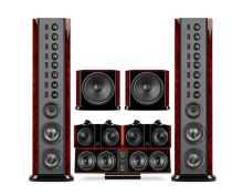 Swans 2.8AHT flagship home theater 5.2 system surround home theater system low distortion big dynamic  home theater (China)