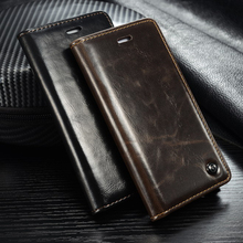 Original Brand Leather Case sFor Apple iphone 6 6S Case For iphone 6 6S Plus Cell Phone Back Cover Wallet Flip With Card Holder