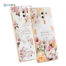 Super 3D Relief Printing Clear Soft TPU Case For Huawei Honor 6X Phone Bag Back Cover Ultra-thin Shell Coque Fundas