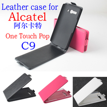 High Quality New Original Alcatel C9 Leather Case Flip Cover for Alcatel C9 Case Phone Cover In Stock