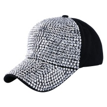 High Quality WOMEN brand baseball cap new fashion rhinestone crystal denim snapback caps wholesale woman hip hop snapbacks hats