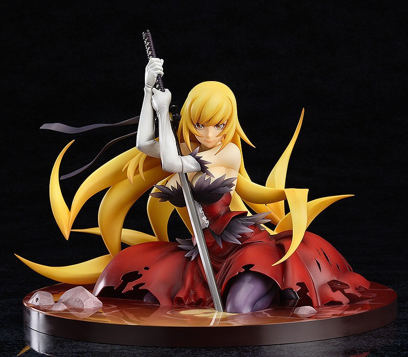 Anime Oshino Shinobu Kiss-Shot Acerolaorion Heartunder Blade  PVC Action Figures Collectible Model Toys 14cm KT1976<br>