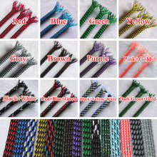 4mm Braided Soft PP Cotton Yarn + PET Expandable Sleeving Wire Cable Protect(China)