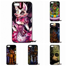 Cute five nights at freddy Fnaf Cell Phone Coque Case For Huawei Ascend Y5 Y6 P6 P7 P8 P9 Lite Honor 4C 5C 6 4X 5X G8 Mate 7 8 9