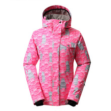 MS GSOUSNOW ski suit single board skiing clothing female outdoor style 1410