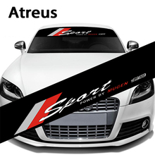 Atreus 1X Car Auto Front Window Windshield Decal Stickers VW BMW E46 E36 Audi Mercedes Opel Ford Skoda Toyota Honda