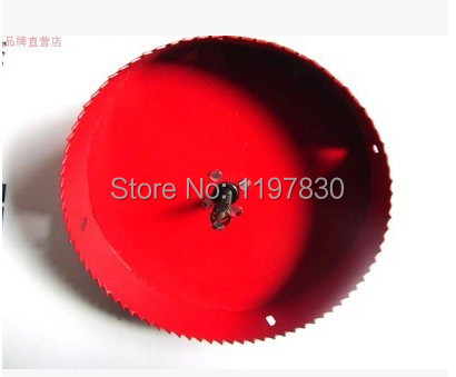 Free shipping universal hole saw 155mm M42 Bi-metal hole Saw steel iron wood plastic hole opener underreamer pipeline perforator<br>