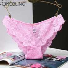 Buy One Bling Women's Panties Underwear Sexy Lace Underpants Seamless Panties Briefs Woman Pants Knickers High Quality