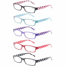 Reading glasses Eyewears With Floral Design Fashion Readers for Women Spring Hinge Flower Print Colorful Diopter Glasses(China)