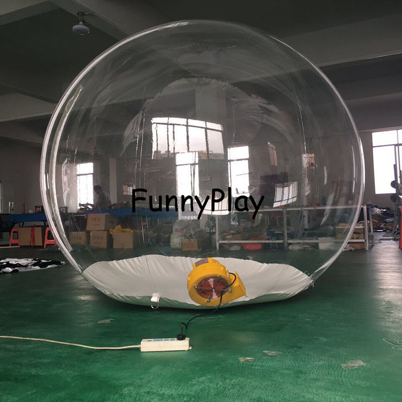 inflatable clear Camping Tent6