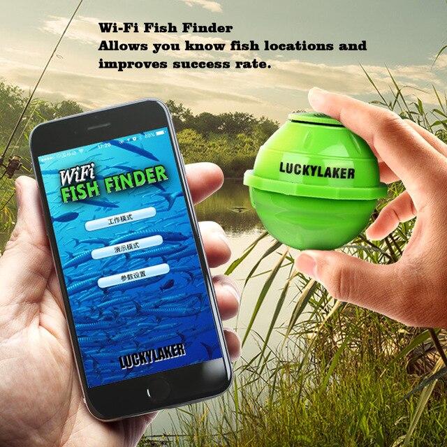 Wifi Fishfinder echo sonar sounders locating fish sound underwater camera for fishing findfish deeper wireless echo sounder (3)