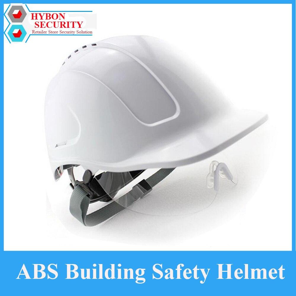 ABS Construction Team Safety Helmet German Helmet Anti-smash Breathable Construction Work Hard hats capacete motoqueiro<br>