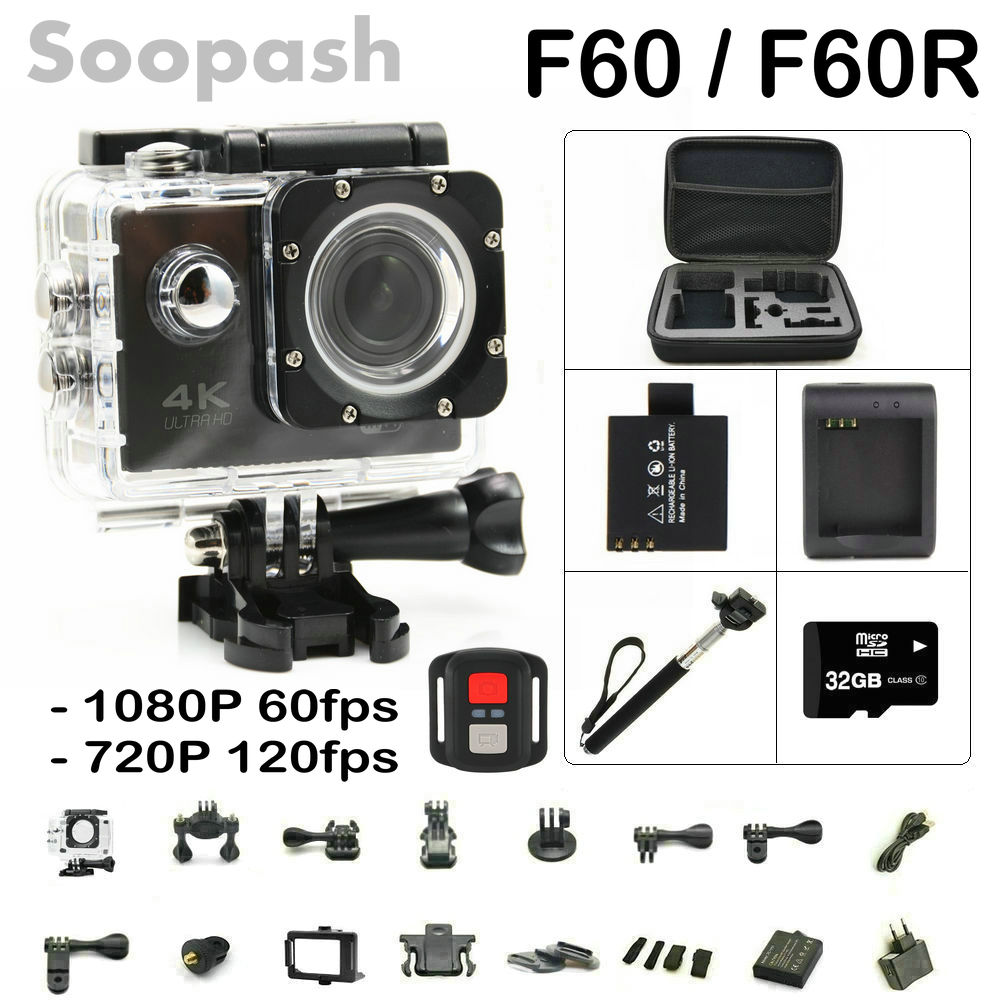 New Arrival Bundle! Original F60/ F60R Wifi Action...