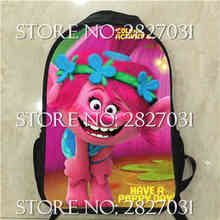 Mochilas Infantil Trolls Backpack Backpack Shoulderbag Pencil Bag Anime Gravity Games TV Show Animal Boys Bags Girls School Gift