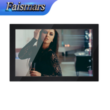 M190-R02/ Faismars 19 Inch Widescreen Metal Rack Mount Monitor With Multi-interface Built in Two Speakers(China)