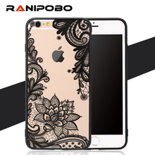 Buy Hot Sexy Lace Retro Vintage Floral Flower Printed Soft Case iPhone 7 7plus 6 6S 6Plus Fashion Phone Cases Cover for $1.25 in AliExpress store