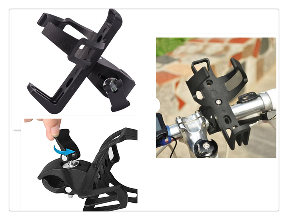 Motorcycle modified scooter riding cross-car buckle water cup holder for YAMAHA R6S USA BT1100 Bulldog XJR400 1300 RACER 400R