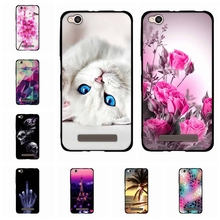 Fashion For Xiaomi redmi 4A Case Silicone luxury Soft Rubber TPU Case For Xiaomi redmi 4A Phone Cases Phone Cover Capa Fundas(China)