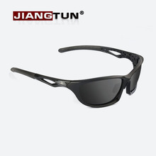 JIANGTUN Flexible Tr90 Polarized Men Sunglasses Professional Driving Sun Glasses Men Brand Design High Quality Gift