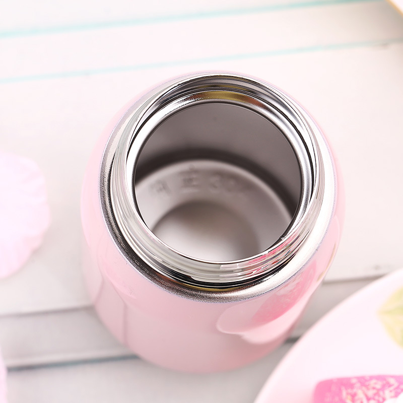 Baby Thermos Feeding Bottle Child 304 Stainless Steel Vacuum Flask Water Cup Cute Mini Toddler Drink Kid Insulation Cup BB5107 (1)
