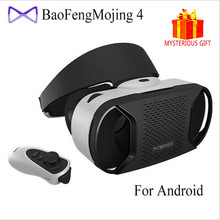 Baofeng Mojing 4 IV Casque Video 3D VR Glasses Box Virtual Reality Goggles Vrbox Google Cardboard Remote Controller for Android