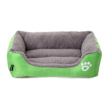 Warm Pet Dog Bed Cushion for Small Dogs Sofa Kennel Home Labrador Husky Satsuma French Bulldog Pet Cat House 11by2(China)