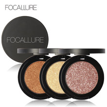 Focallure 8 Colors Eyeshadow Palette Shimmer shine eye shadow Makeup Kit Smokey Glitter Cosmetics Shadow(China)