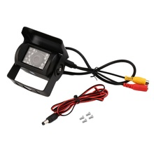 Waterproof 18LED IR Night Vision Car Rearview Reversing Backup CMOS Camera