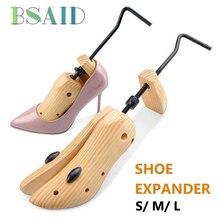 c6a18347f617 BSAID 1 pc 2-способ Регулируемый Деревянный держатели для голенищ обуви для  10 см Женская обувь на высоких каблуках обувь Носилк..