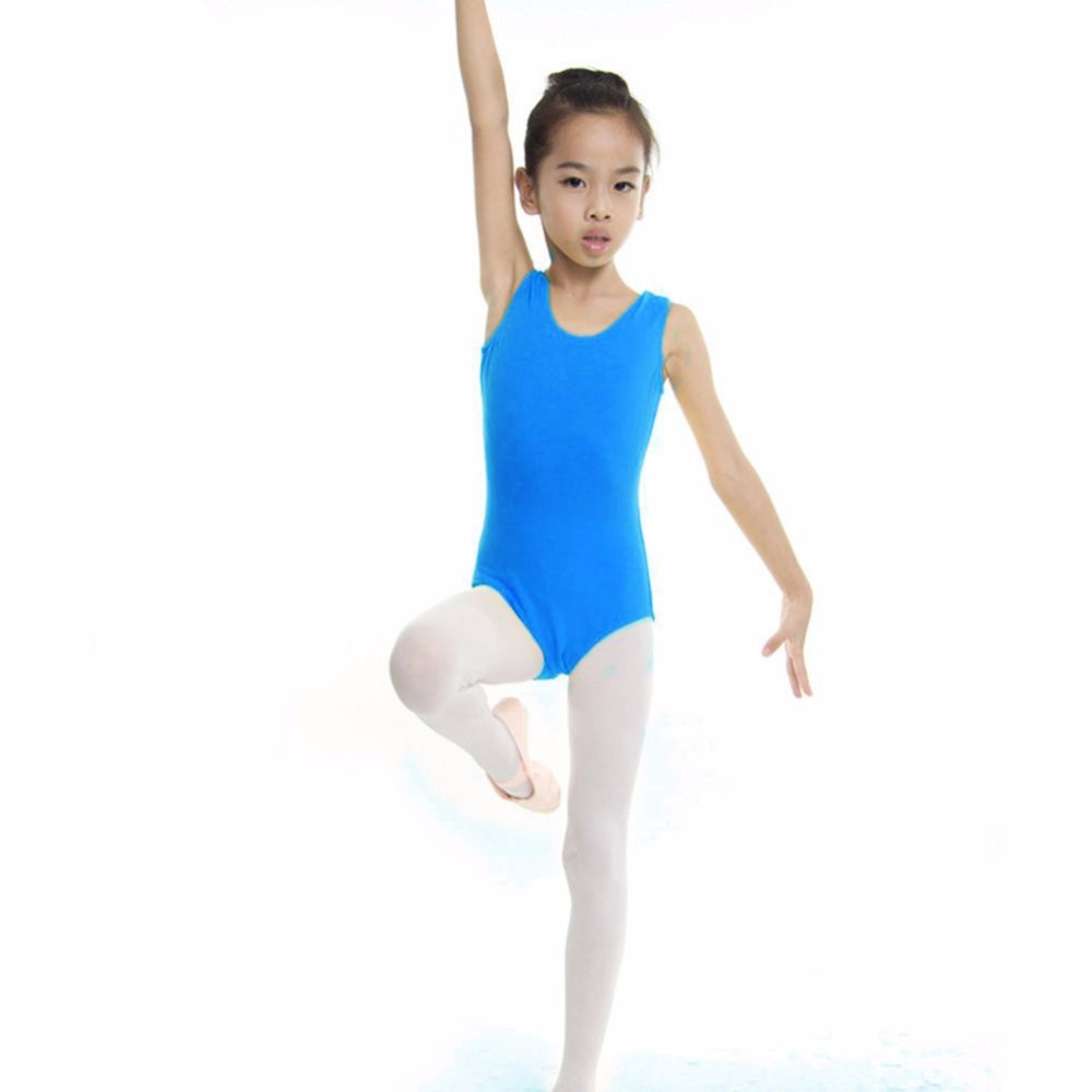 Girls Ballet Leotard Dance Gymnastics Dress Ballet Skirt