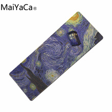 Buy MaiYaCa 900 XL Van gogh mouse pad computer mouse mats mouse pads desktop laptop PC keyboard laptop mouse mat 2017 new arrival for $10.79 in AliExpress store