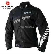 SCOYCO JK28 Moto Jackets winter for men Motorcycle,red black blue 650D jacket riding clothing motorbike suits