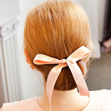 1PC Fashion Hair Styling Tools Foam Sponge Bows Hair Ties/Rings/Rope Quick Messy Donut Bun Maker Hairstyle Girl Hair Accessories(China)