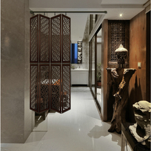 Fashion chinese style screen partition walls hanging cutout antique console wool off screen biombo(China)