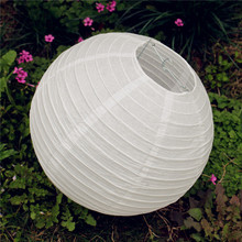 "Wedding Decoration 12PCS 12""(30CM)Chinese Paper Lantern White Wedding Party Decoration Summer Style Party Decoration"