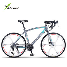 Buy New Brand Road Bike Carbon Steel Frame 24/27/30 Speed Disc Brake Break Wind Cycling Racing Bicycle Outdoor Sport Bicicleta for $486.20 in AliExpress store