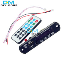 Free Shipping Wireless Bluetooth 12V MP3 WMA Decoder Board Audio Module TF USB Radio Controller For Car Standard
