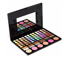 78 Colors Make Up Eyeshadow Pallette with Natural Highlighting Concealer Blusher Lipgloss Professional Makeup Set with Mirror