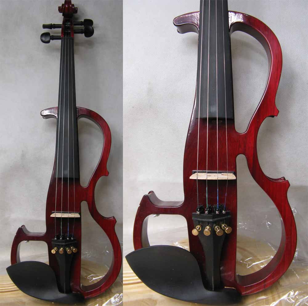 red 4/4 High quality  Electric violin<br><br>Aliexpress